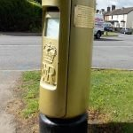 Gold Letterbox