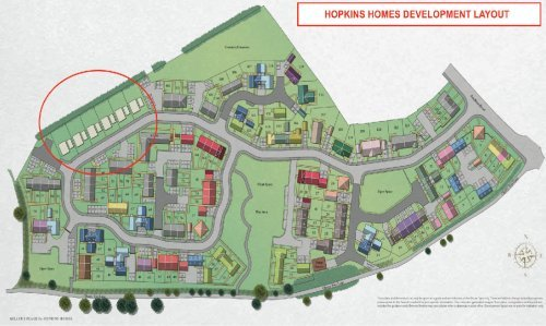 Hopkins Homes Development Layout