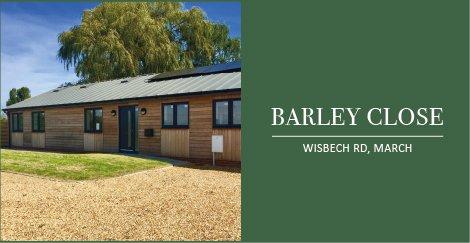 Barley Close, March