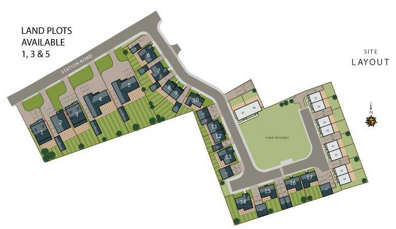 Homes Development Layout